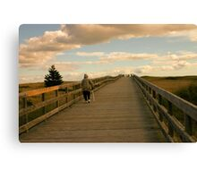 To the Beach and Back Canvas Print
