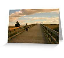To the Beach and Back Greeting Card