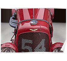 1938 Aston Martin Vintage Racecar Poster