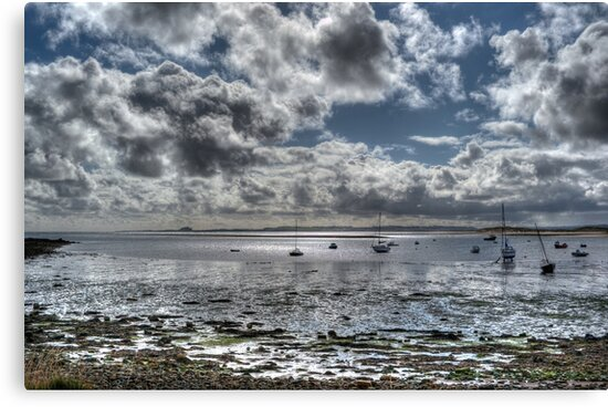 Lindisfarne View #1 by Colin Metcalf