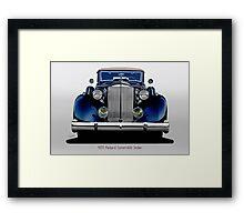 1935 Packard Convertible Sedan III Framed Print