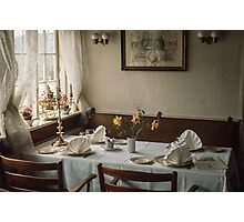 Luncheon table Roskilde 19610414 0099  Photographic Print