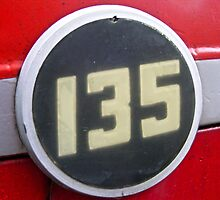 Tractor Massey Ferguson 135 Badge  by Russell Voigt