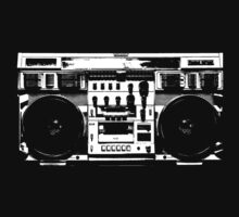 Conion C-100F Boombox Art by Bill Tracy by btphoto