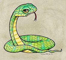 Snake is Unimpressed by Sonya Craig