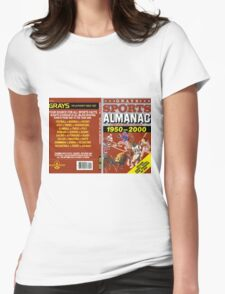 BTTF GREYS SPORTS ALMANAC Womens Fitted T-Shirt