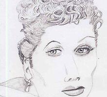 I Love Lucille Ball by pinkyjainpan