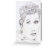 I Love Lucille Ball Greeting Card