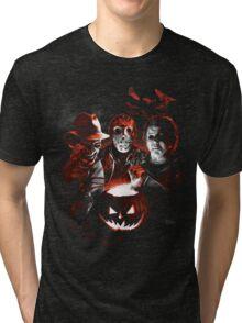 Super Villains Halloween Tri-blend T-Shirt
