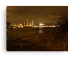 Gothenburg By Night Canvas Print