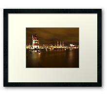 Gothenburg By Night Framed Print