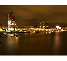 Gothenburg By Night Photographic Print
