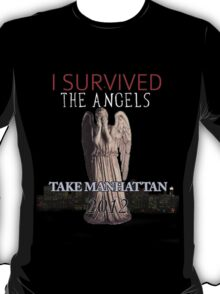 "I Survived ""The Angels Take Manhattan"" 2012 T-Shirt"