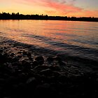 Parksville Beach - Sunset by rsangsterkelly