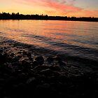 Parksville Beach - Sunset by rsangsterkelly