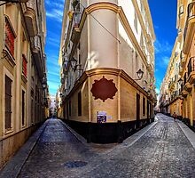 Backstreets Of Cadiz by manateevoyager