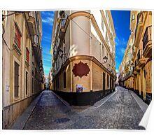 Backstreets Of Cadiz Poster