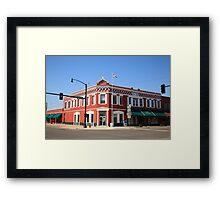 Route 66 - Sayre, Oklahoma Framed Print