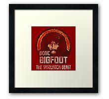 Bionic Bigfoot Framed Print