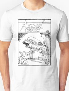 Pengiun Action comics T-Shirt