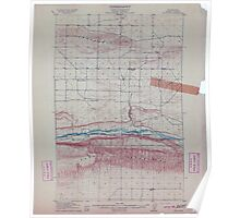 USGS Topo Map Washington State WA Red Rock 243396 1911 62500 Poster