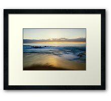 Sunset Shore Framed Print