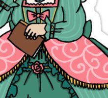 madame de pompadour Sticker