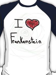 i love Frankenstein halloween   T-Shirt