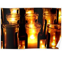 Altar Candles Poster