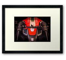 Ferrari Engine Framed Print