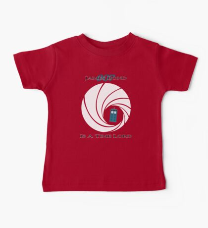 James Bond is a Time Lord Baby Tee