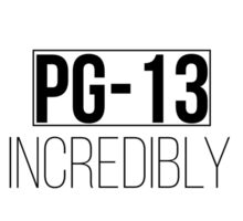 PG-13 How incredibly dull Sticker