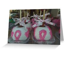 """""""National Breast Cancer Month"""". Greeting Card"""