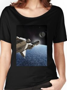 Passing the Ice Planet Women's Relaxed Fit T-Shirt