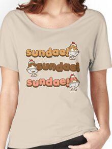 Sundae! Sundae! Sundae! Women's Relaxed Fit T-Shirt