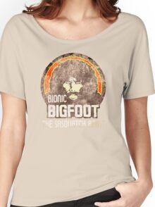 Bionic Bigfoot Women's Relaxed Fit T-Shirt