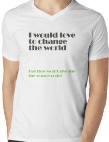 change the world Mens V-Neck T-Shirt