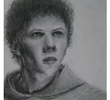 Portrait - Jesse Eisenberg by dechaNNa