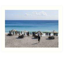 Bali Beach ! Art Print