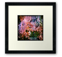 Decaying Music Framed Print