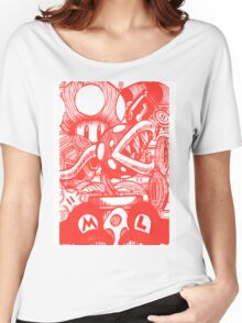 Mario and Friends Women's Relaxed Fit T-Shirt