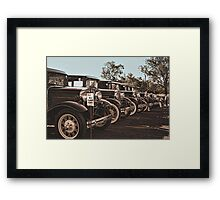 A-1 Used Cars Framed Print