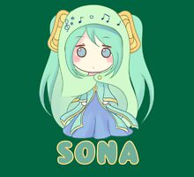 Chibi Sona League of Legends T-Shirt