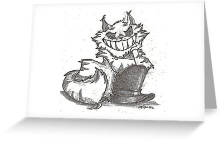 The Cheshire Cat by sketchingbrad