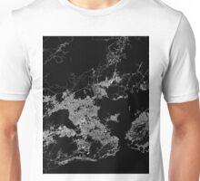 Rio map Brasil Unisex T-Shirt