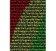 Reggae Artist - Roll Call Photographic Print