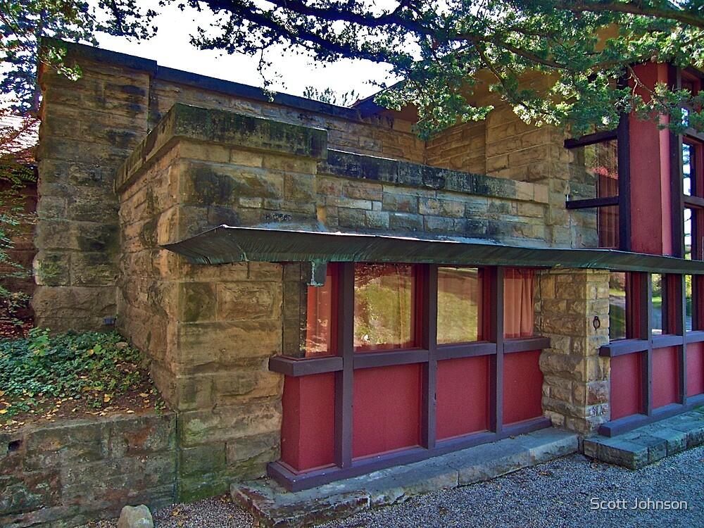 Taliesin, Home & Studio of Frank Lloyd Wright by Scott Johnson