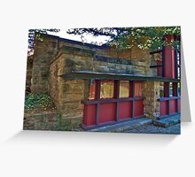 Taliesin, Home & Studio of Frank Lloyd Wright Greeting Card