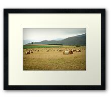 Tableland Farmland Framed Print
