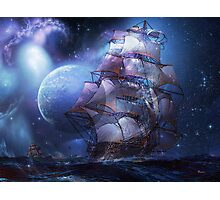 MOONLIT SAIL Photographic Print